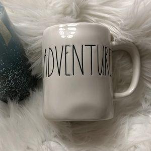 "Rae Dunn ""ADVENTURE"" coffee mug NEW"